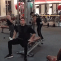 cuando vas al gym por primera vez