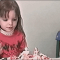 Birthday candle blowout