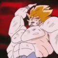 Goku le gana