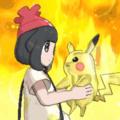 Batata Quente com Pikachu
