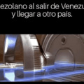 al fin salí de Venezuela