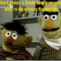 ..... E depois, Ernie descobre que Bart tinha virado um ser otacueiro