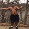 Quando gordo vê churrasco