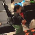 ....... Gaybrielp ainda criança tenta conquistar o dog e leva um fora pentaloucamente