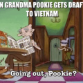 Pookie doesnt have vietnam flashbacks , vietnam has pookie flaahbacks