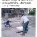imagenes de la artillería rusa defendiendo Stalingrado