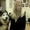 Eita porra, o cachorro creepy