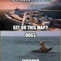 Dogs Inbound