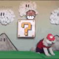 Gaybrielp faz cosplay de Mario vermelho e não consegue se levantar por conta da cloaca que ficou gigantesca