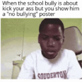 No Bullying Here !!