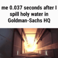 Le holy water