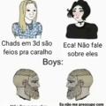 Meme não original, traduzi do server gringo, obs: apoie a tag