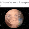 i used to be a planet....