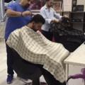 Nunca durma em uma barbearia